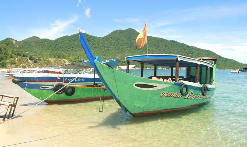 Đà Nẵng cách Cù Lao Chàm bao xa đi tàu chợ