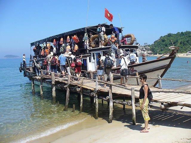 Đà Nẵng cách Cù Lao Chàm bao xa tàu chợ ra cù lao chàm