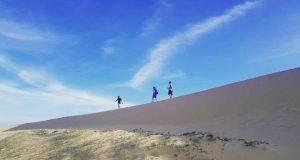 Tới ngay đồi cát Quang Phú đẹp sừng sờ ở Quảng Bình