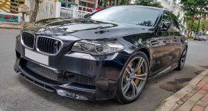 BMW M5 duy nhất ở Việt Nam xuất hiện trước nhà Cường Đô La