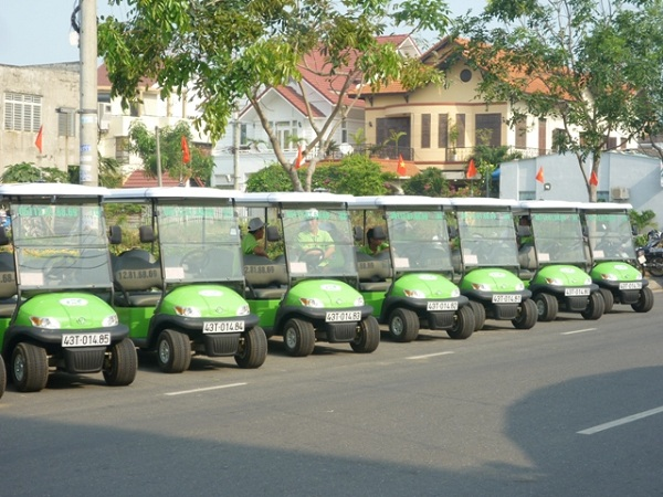 xe điện du lịch Đà Nẵng