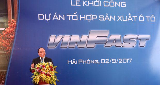 VinGroup sản xuất ôtô – giấc mơ xe hơi thương hiệu Việt