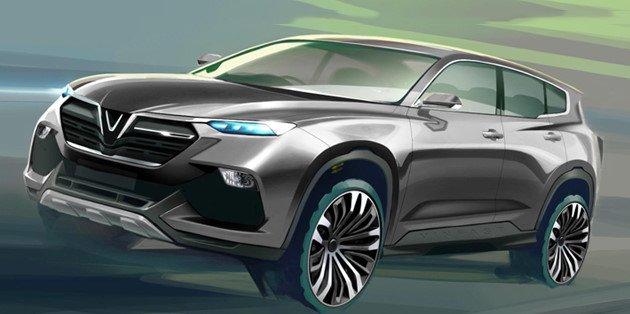 VinFast công bố 20 thiết kế cho dòng xe Sedan và SUV cực đẹp
