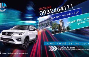 Cho thuê xe 7 chỗ Phú Bài đi thánh địa La Vang trả Huế Thue xe du lich o Hue