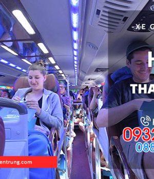 giá xe giường nằm Huế đi Thanh Hóa