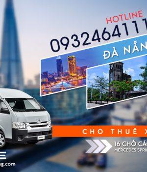 Giá thuê xe 16 chỗ Đà Nẵng đi La Vang Quảng Trị