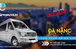 Giá thuê xe 16 chỗ tham quan Đà Nẵng Da Nang City tour 1 ngày