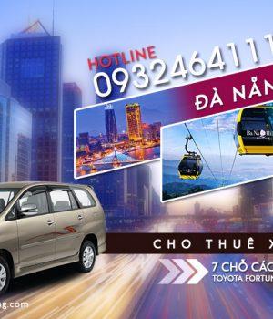 Giá thuê xe 7 chỗ Đà Nẵng đi Bà Nà giá rẻ