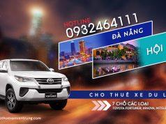 Giá thuê xe 7 chỗ Đà Nẵng đi Hội An
