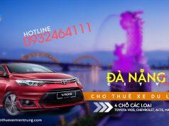 Giá thuê xe 4 chỗ tham quan Đà Nẵng | Da Nang City tour 1 ngày