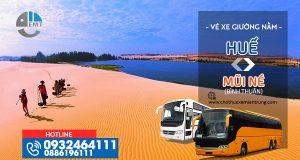 Vé xe Huế - Mũi Né (Bình Thuận)