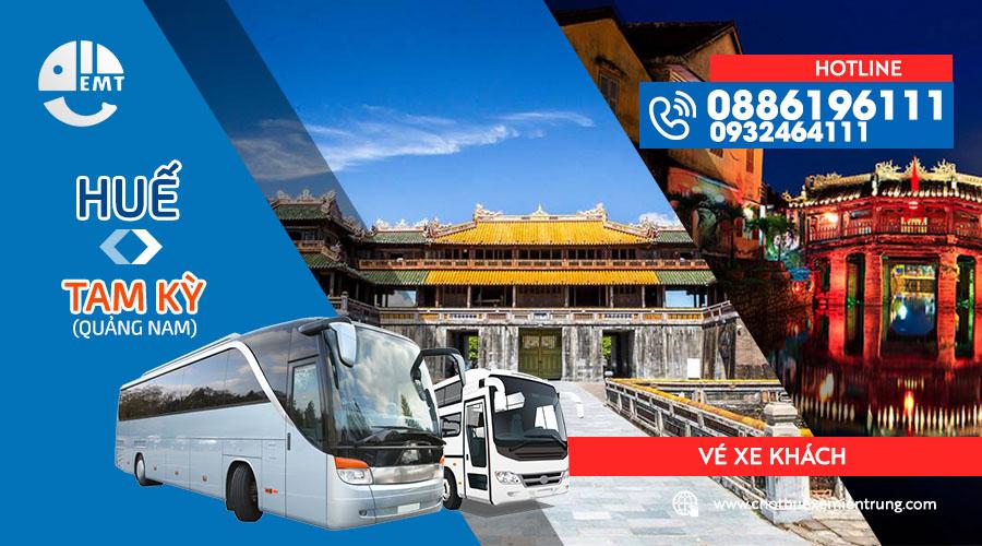 Vé xe Huế – Quảng Nam (Tam Kỳ)