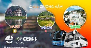 xe khách Hà Nội - Lào Cai - Sapa