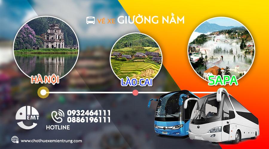 Vé xe khách Hà Nội – Lào Cai – Sapa