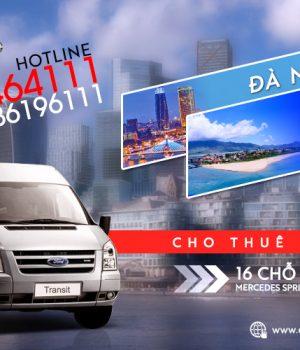 Giá thuê xe 16 chỗ Đà Nẵng đi Lăng Cô, Huế
