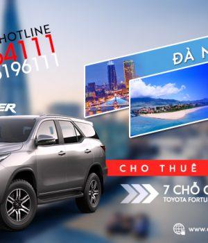 Giá thuê xe 7 chỗ Đà Nẵng đi Lăng Cô, Huế