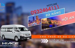 thuê xe 16 chỗ tại Đà Nẵng đi Hội An