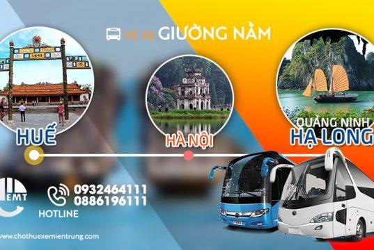 Xe khách Huế đi Quảng Ninh Hạ Long