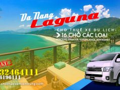 Cho thuê xe 16 chỗ Đà Nẵng đi Laguna Resort Lăng Cô Huế