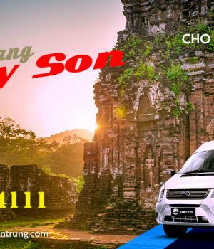 Giá thuê xe 16 chỗ Đà Nẵng đi Mỹ Sơn, Hội An