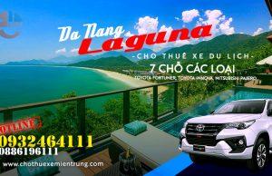 Cho thuê xe 7 chỗ Đà Nẵng đi Laguna Resort Lăng Cô Huế