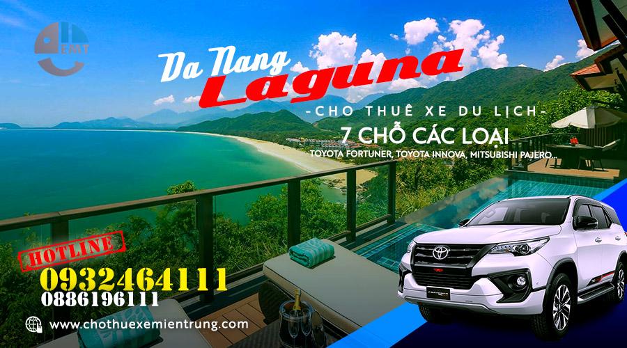 Giá thuê xe 7 chỗ Đà Nẵng đi Laguna Resort