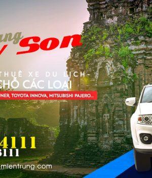 Giá thuê xe 7 chỗ Đà Nẵng đi Mỹ Sơn, Hội An