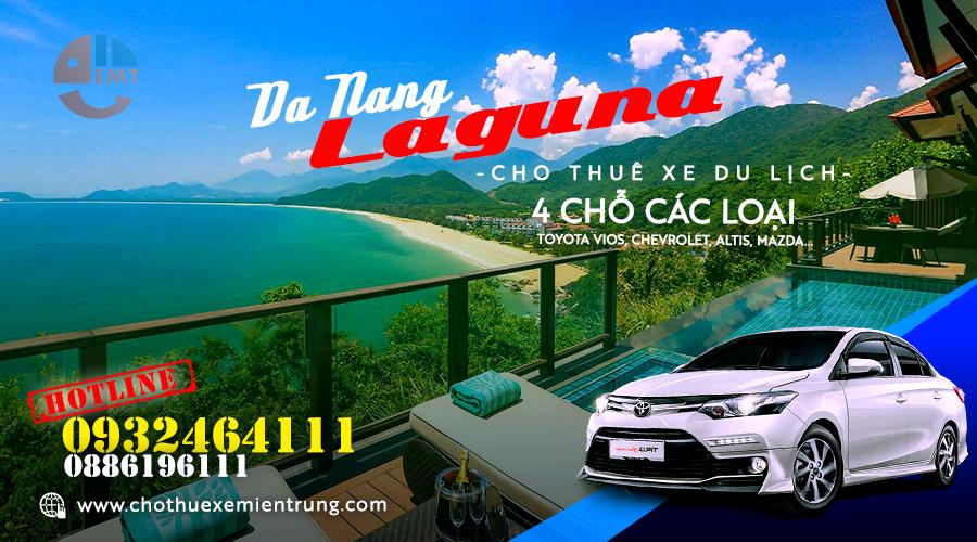 Thuê xe 4 chỗ Đà Nẵng đi Laguna resort