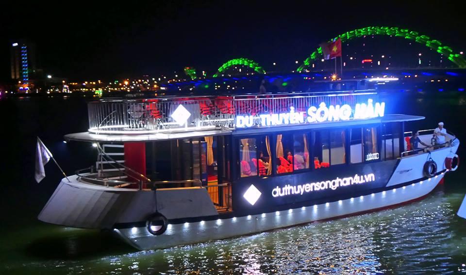 đi du thuyền trên sông hàn đà nẵng, các phương tiện du lịch đà nẵng