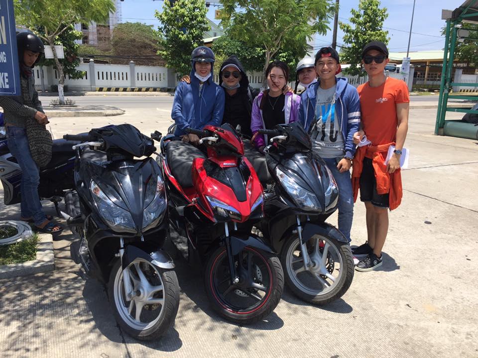 Địa chỉ thuê xe máy Đà Nẵng, các phương tiện du lịch đà nẵng