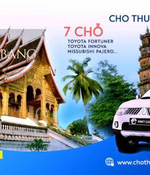 Cho thuê xe 7 chỗ từ Huế đi Luongphabang