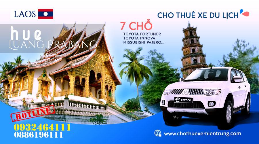 Cho thuê xe 7 chỗ từ Huế đi Luongphabang (Luang Prabang) – Lào