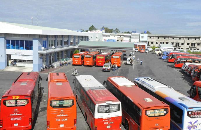 Lịch trình các tuyến tại bến xe phía Bắc Huế