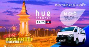 Thuê xe du lịch 16 chỗ từ Huế đi Thakhet, Thuê xe đi Lào
