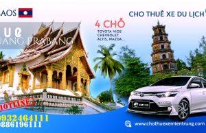 Thuê xe du lịch 4 chỗ từ Huế đi Luongphabang (Luang Prabang)