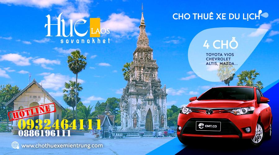 Thuê xe du lịch 4 chỗ từ Huế đi Savanakhet - Lào