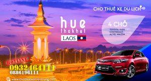 Thuê xe du lịch 4 chỗ từ Huế đi Thakhet - Lào