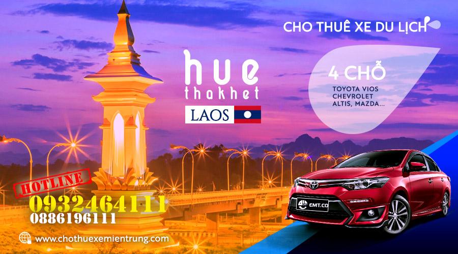 Thuê xe du lịch 4 chỗ từ Huế đi Thakhet – Lào