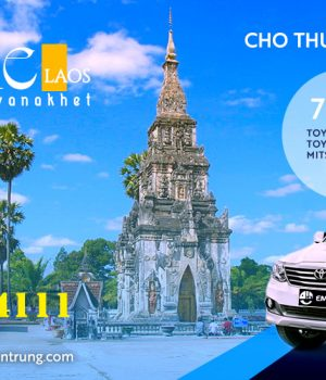 Thuê xe du lịch 7 chỗ từ Huế đi Savanakhet