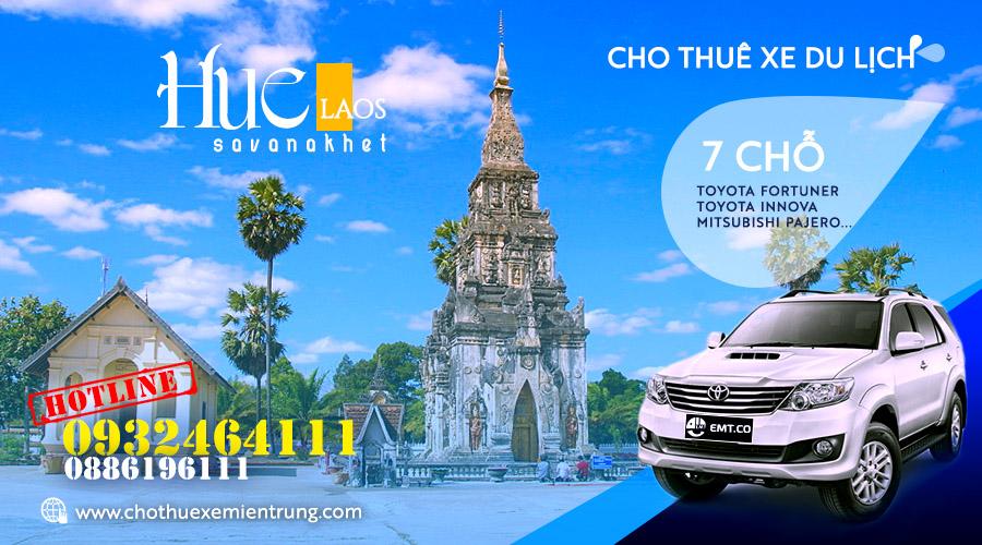 Thuê xe du lịch 7 chỗ từ Huế đi Savanakhet Lào