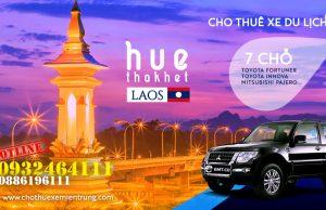 Thuê xe du lịch 7 chỗ từ Huế đi Thakhet, Thuê xe đi Lào