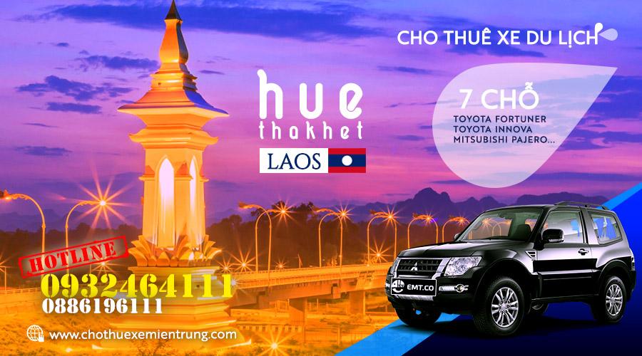 Thuê xe du lịch 7 chỗ từ Huế đi Thakhet Lào