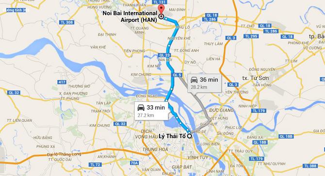 Taxi Từ Nội Bài về Hà Nội giá rẻ