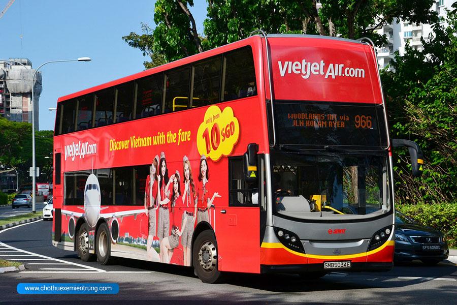 Xe bus từ Nội Bài về Hà Nội