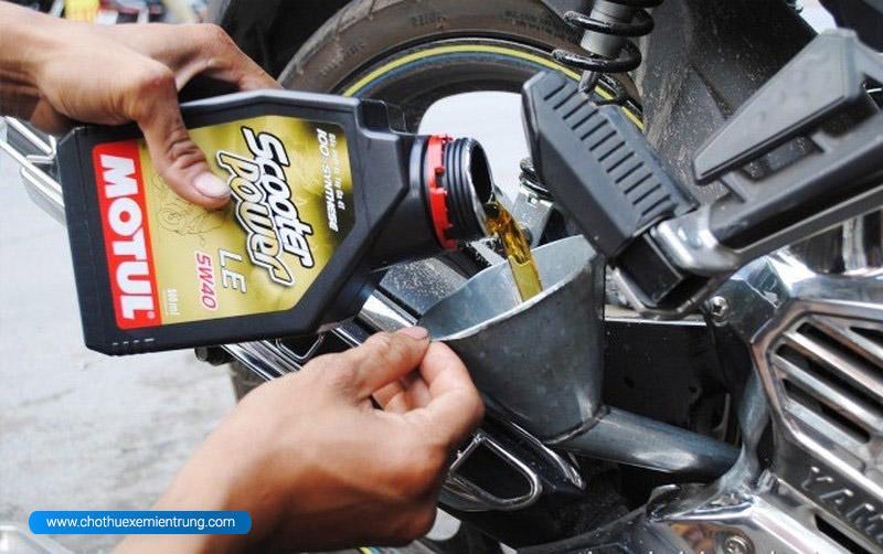 Cách giữ xe máy bền lâu