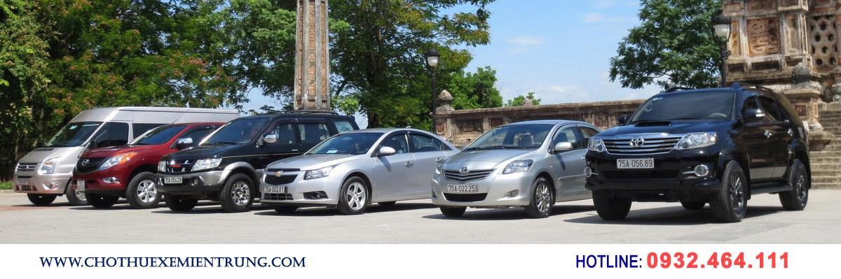 mua xe chạy dịch vụ, cho thuê xe du lịch tại Huế