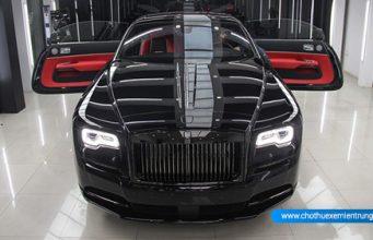siêu xe sang Rolls-Royce Wraith Black Badge