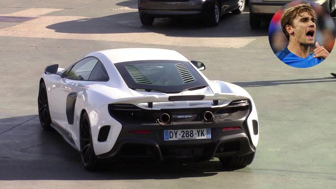 Siêu xe của Antoine Griezmann, McLaren 675 LT