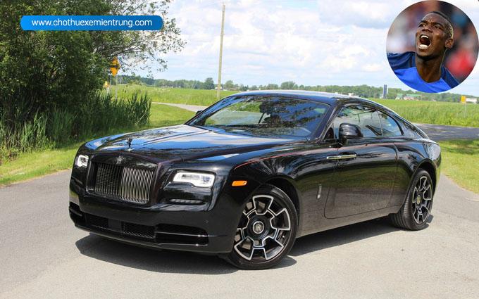Siêu xe của Paul Pagba, Rolls-Royce Wraith Black Badge