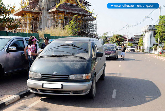 Thủ tục đi xe ô tô sang Lào Campuchia